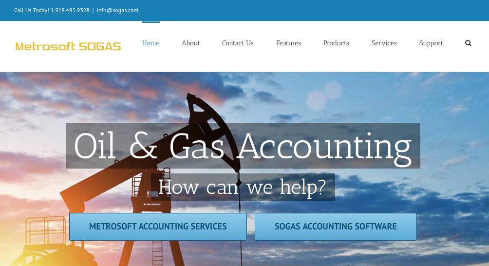 SOGAS: Simplified Oil & Gas Accounting