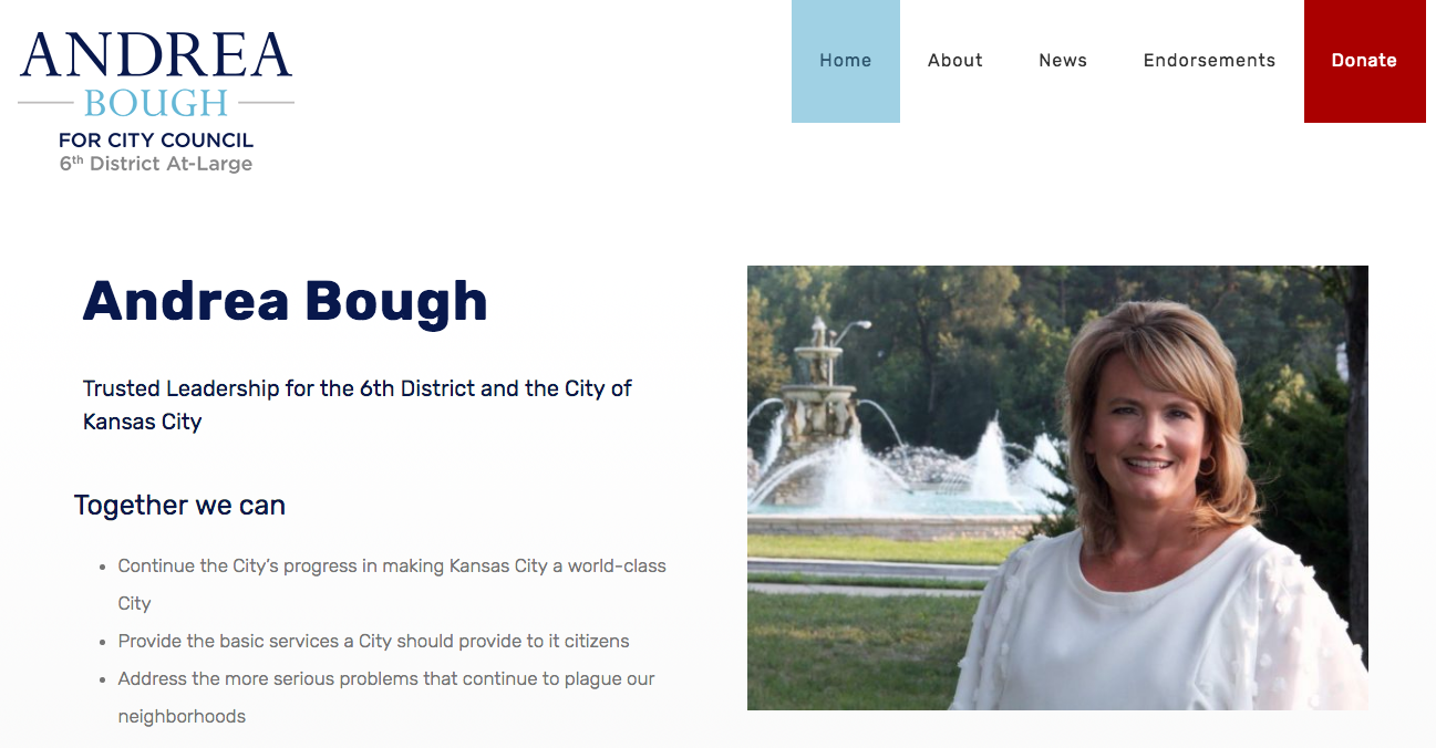 Andrea Bough for Kansas City Council 6th District At-Large