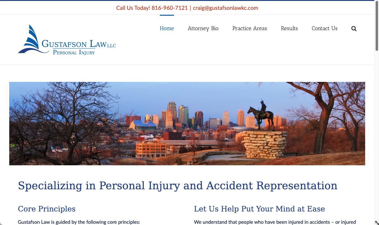 Gustafson Law